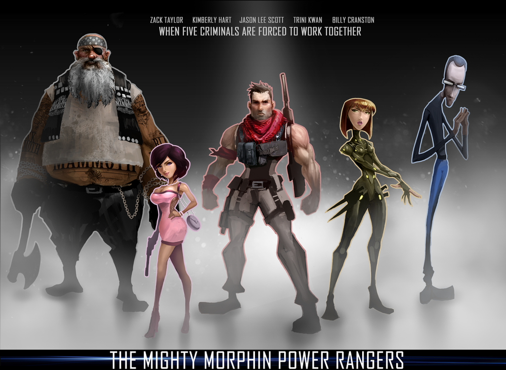 The Mighty morphine Power Rangers by Peachlab on DeviantArt