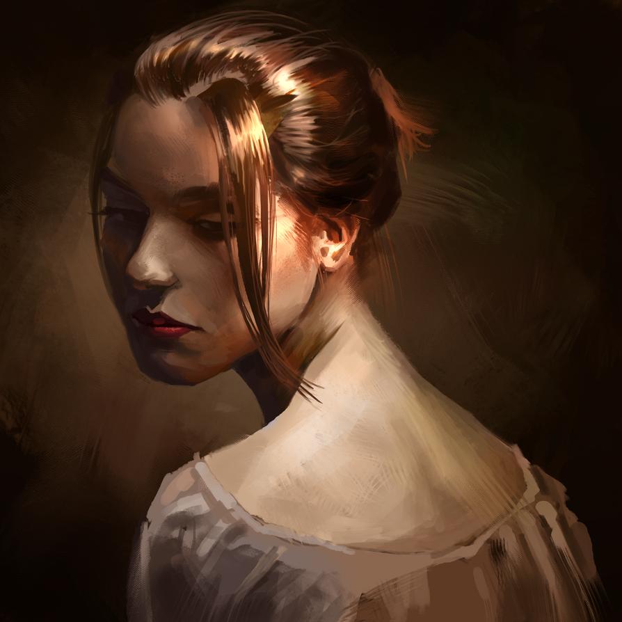 portrait study 01 by Peachlab