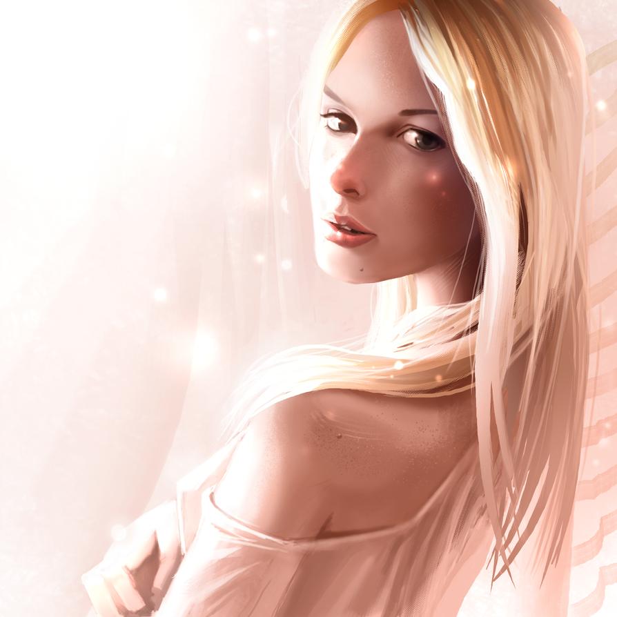 portrait study 03 by Peachlab