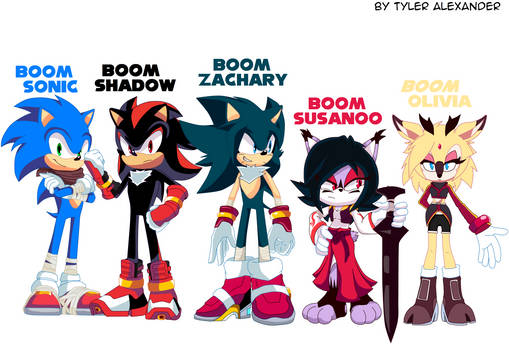 Boom Style Characters