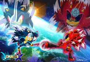 Sonic Phase 4 vs Dark Shadow Phase 4!!!