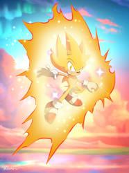 Super Sonic I'm The Fastest In The Universe