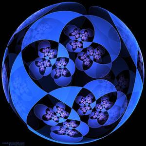 Kleinian Tree - blue