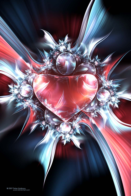melt heart fractal