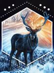 Algiz by WildFoxDeers
