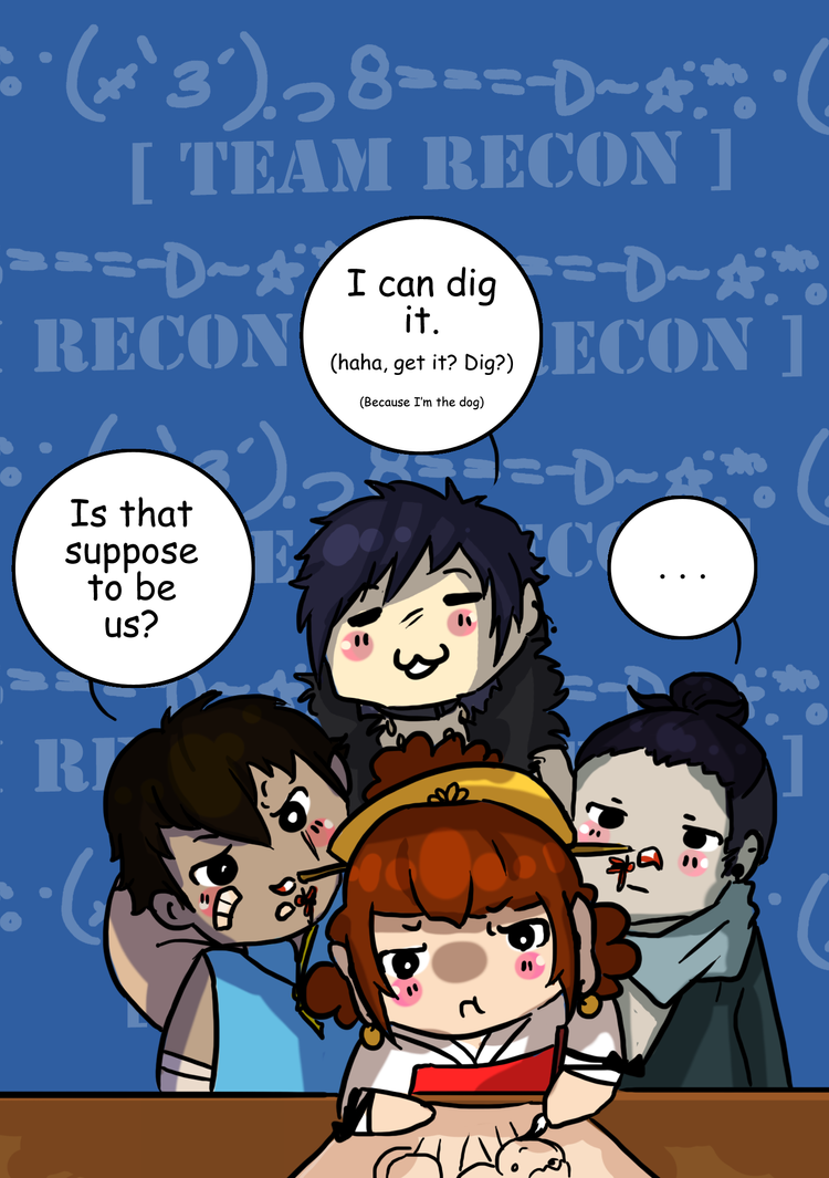 Recon Chibis by Rndom-Obsessions