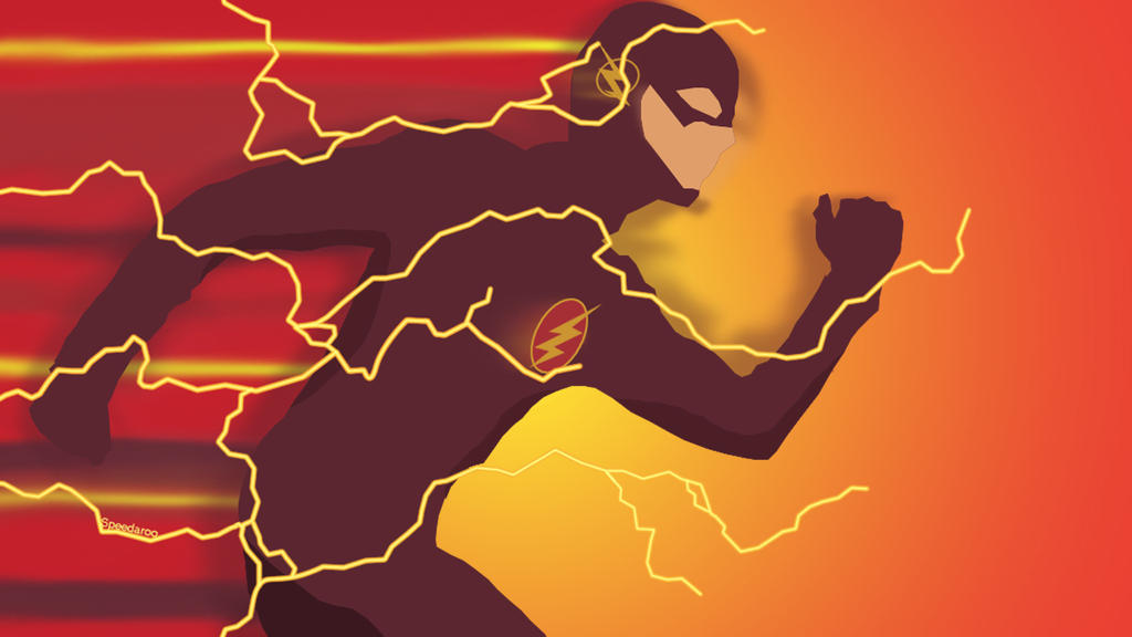 The Flash Silhouette Wallpaper By Speedaroo
