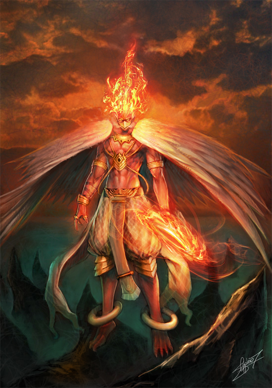 Kurogan clan Hawk Summons(WIP) GARUDA_by_gotgituey
