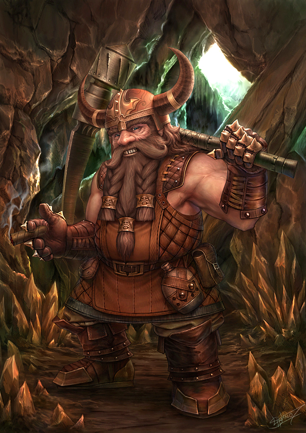 Dwarf by NeoArtCorE