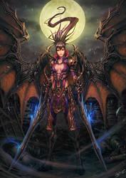 Demon Warrior by NeoArtCorE