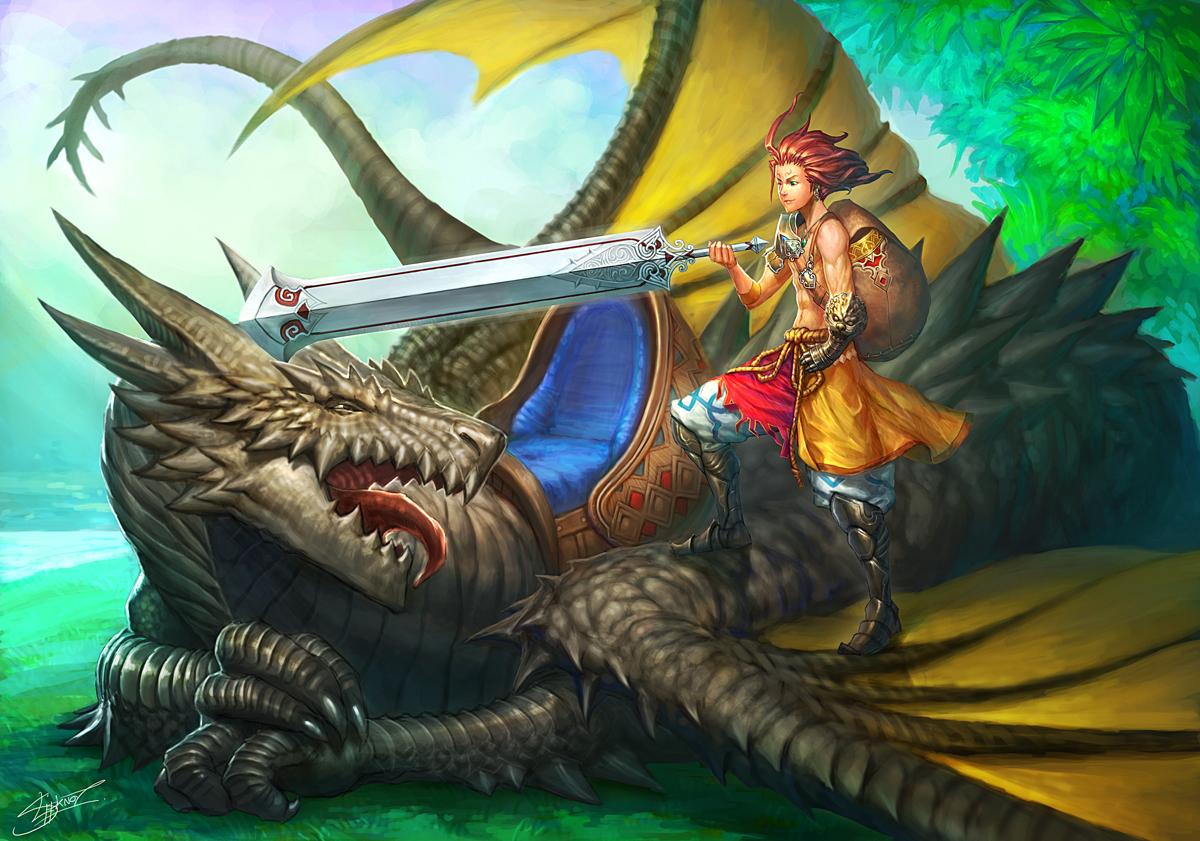 Dragon Rider by NeoArtCorE
