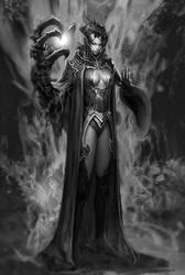 Dark wizard by NeoArtCorE