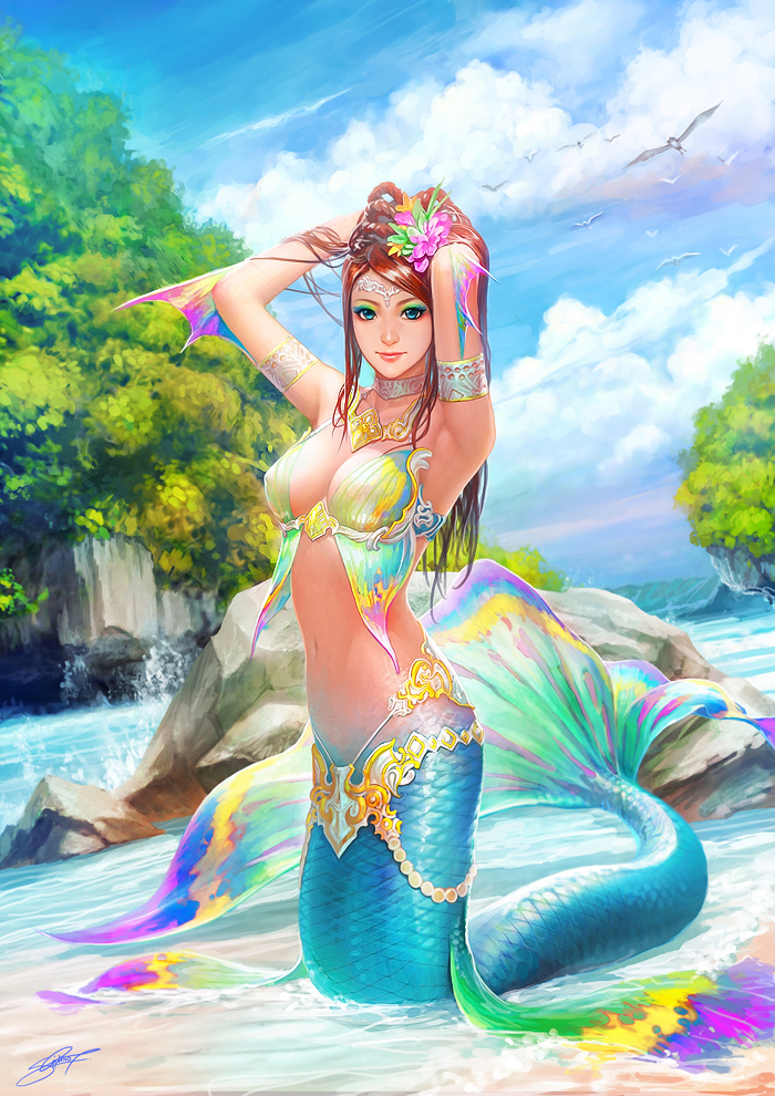 Mermaid by ~gotgituey