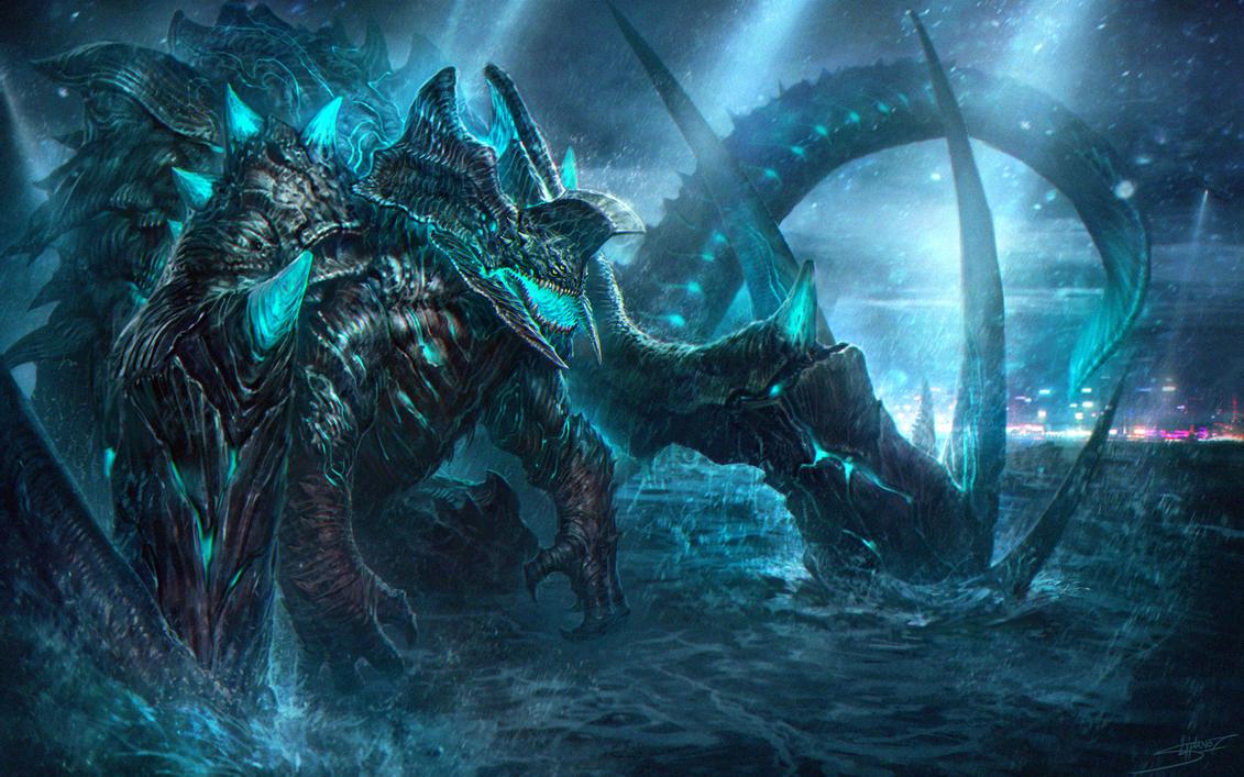 Neo Kaiju by NeoArtCorE on DeviantArt Pacific Rim Kaiju Category 7