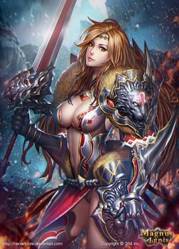 The goddess Regulus of the Leo