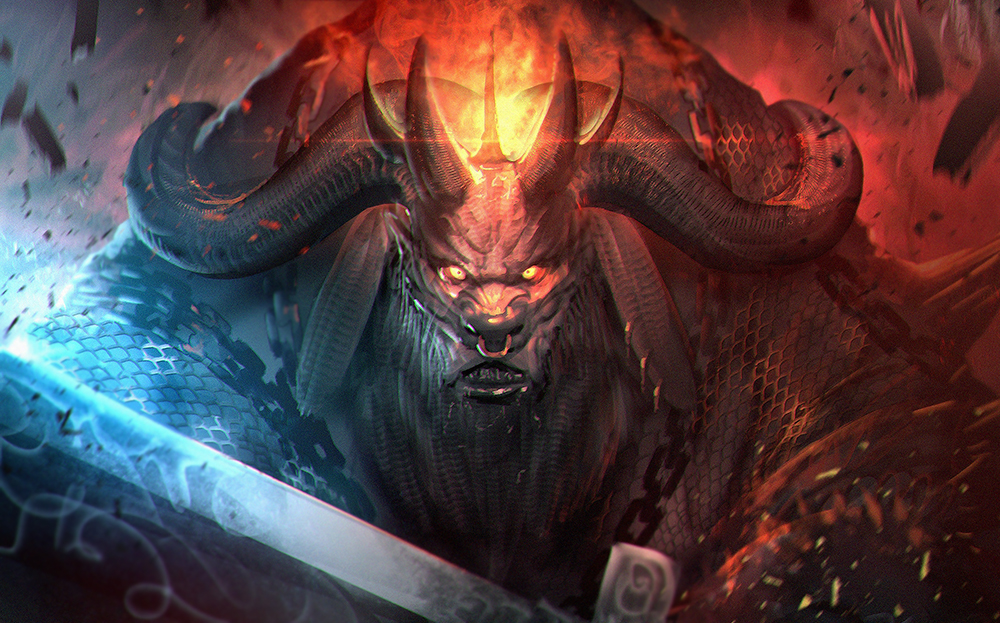The boss bull by NeoArtCorE