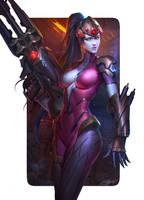 Widowmaker FanArt!! by NeoArtCorE