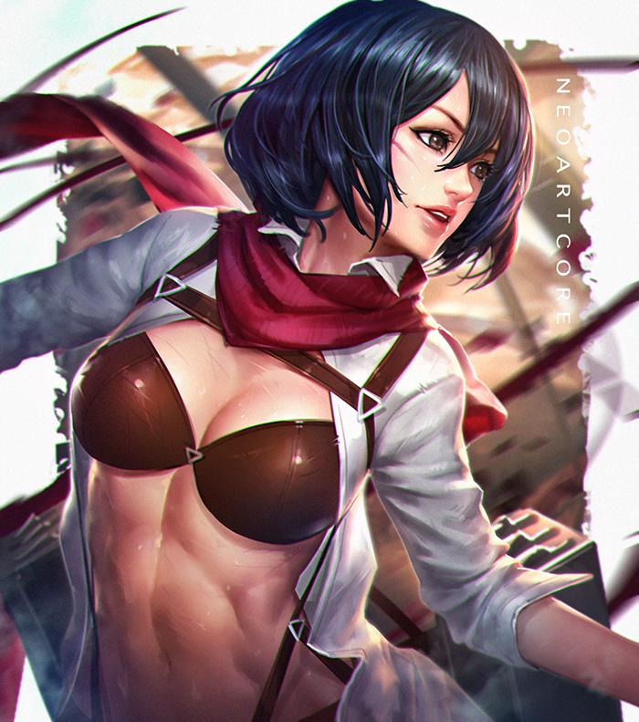 Mikasa by NeoArtCorE