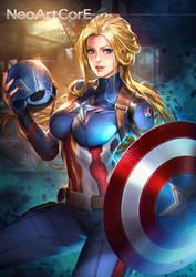 Captain America fanart by NeoArtCorE
