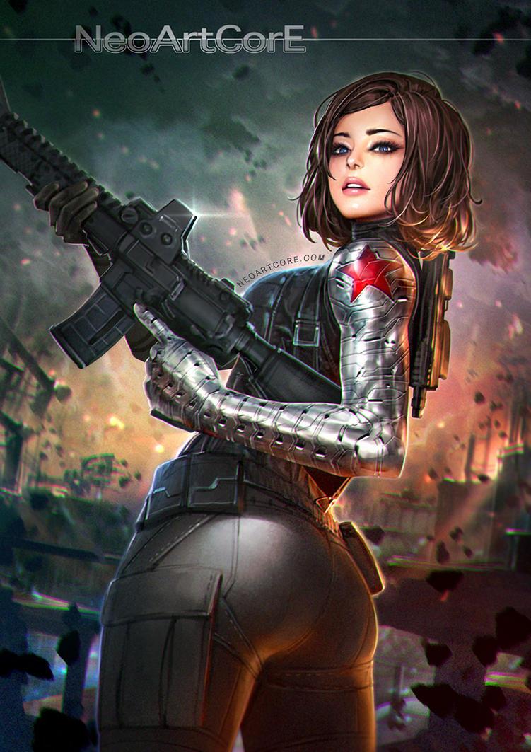 Awesome Winter Soldier Fanart By NeoArtCorE ...