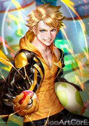 Spark leader by NeoArtCorE