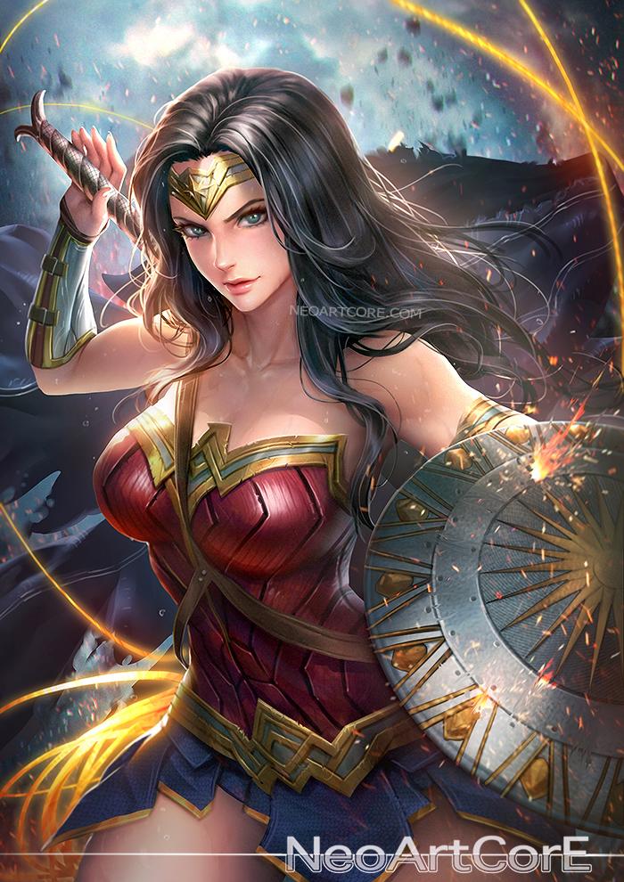 Wonder Woman (2017) by NeoArtCorE