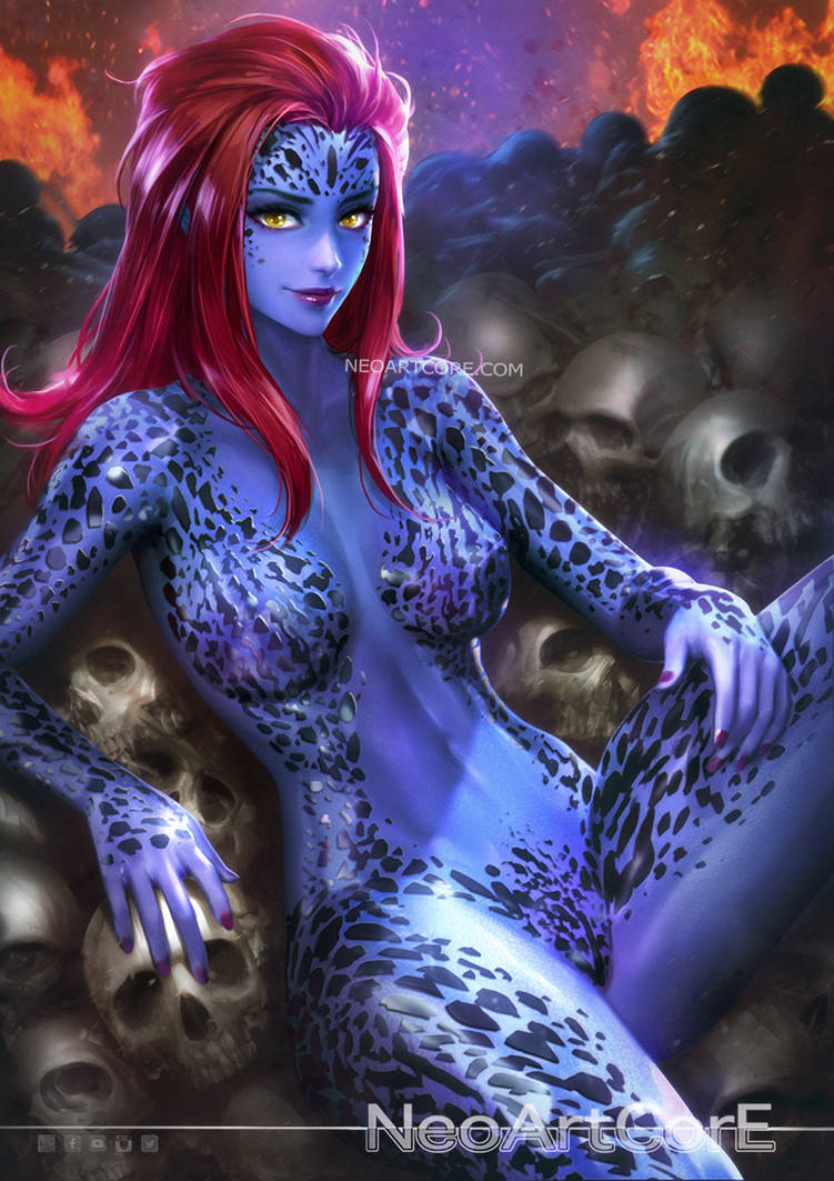 Mystique by NeoArtCorE ...