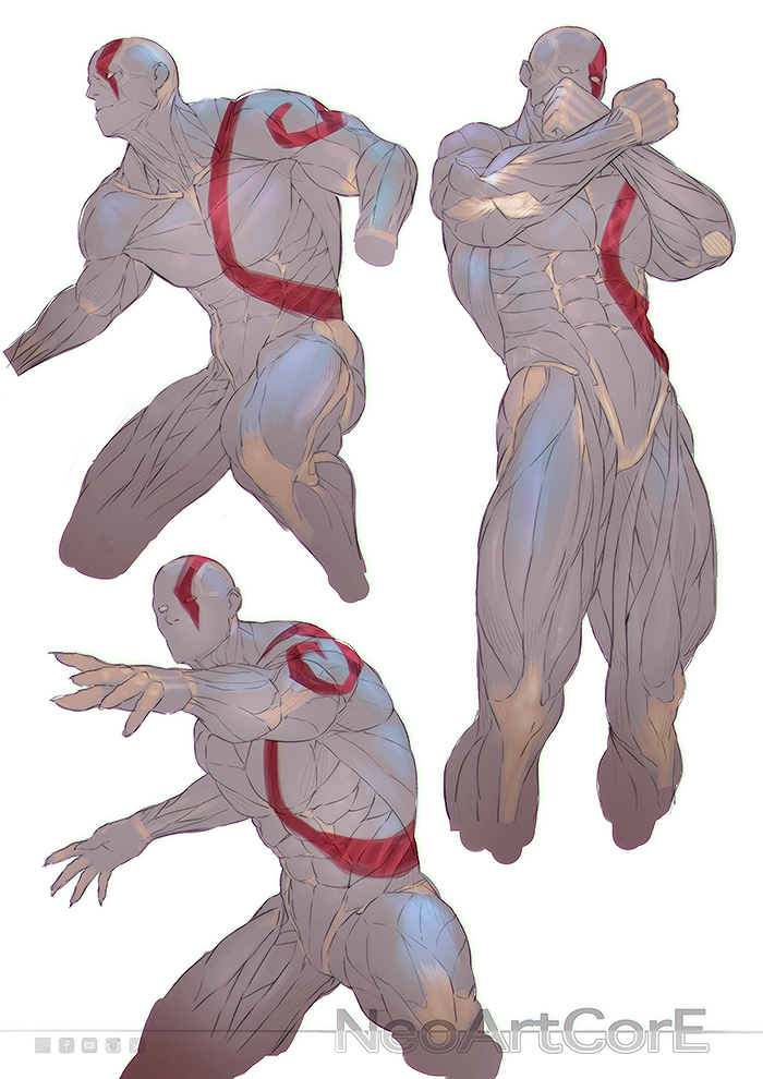 Male Anatomy 23042018 by NeoArtCorE on DeviantArt