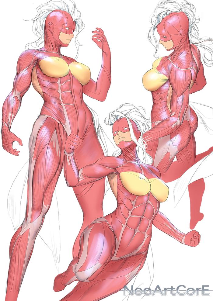 Female Anatomy 26042018 by NeoArtCorE