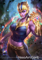 Thanos by NeoArtCorE