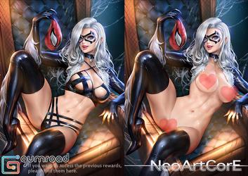 Black Cat_nsfw by NeoArtCorE