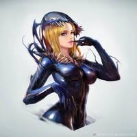She-Venom by NeoArtCorE