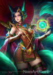 Liliana : Lighten of the Emerald Skin