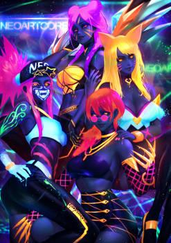 KDA Neon