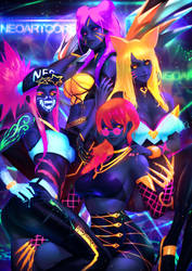 KDA Neon by NeoArtCorE