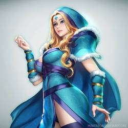 Crystal Maiden by NeoArtCorE
