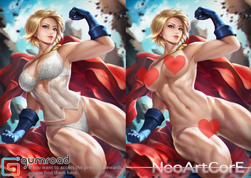 Power Girl nsfw by NeoArtCorE