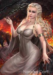 Daenerys Targaryen by NeoArtCorE