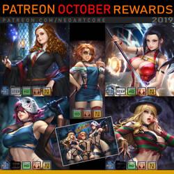 Patreon October Rewards