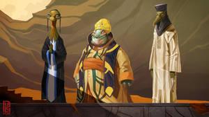 The Prophet concept art character