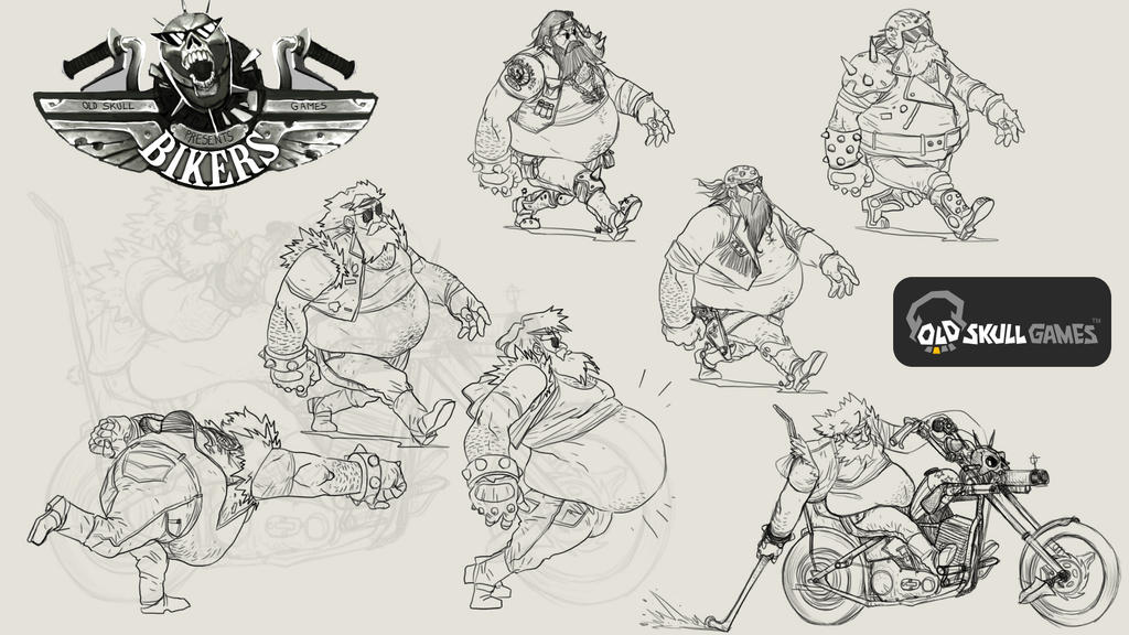 BIKERS various designs by Darkdux