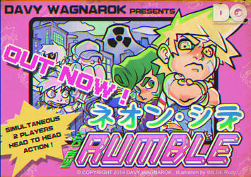N3ON CITY RUMBLE is OUT !!! by Darkdux