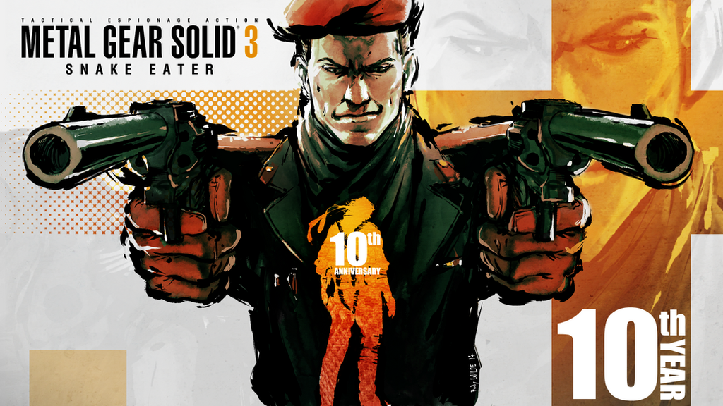 Metal Gear Solid 3 10th anniversary - Ocelot - by Darkdux