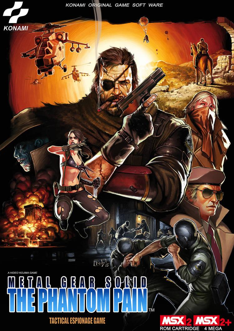 The Phatom Pain MSX cover