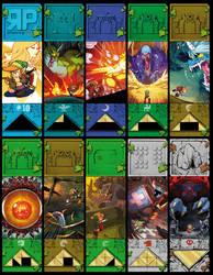 ZELDA DUNGEONS Bookmark Set