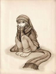 Faith the Dust Bunny (Secret Santa) by ah-kaziya