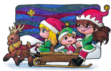Christmas Card 2013 by ah-kaziya