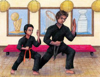 Commission - Dojo Brothers by ah-kaziya