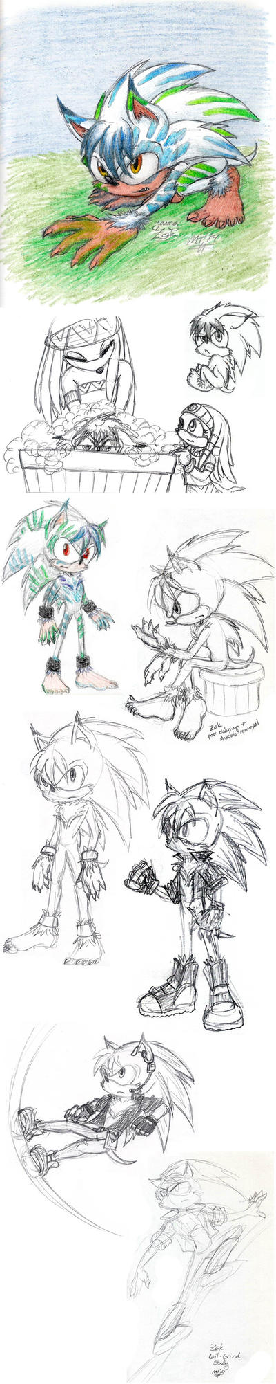 Sketchdump - Zak Redesigned by ah-kaziya