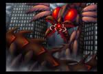 The Echinocarp (AB's Kaiju vs. Mecha Contest) by ah-kaziya